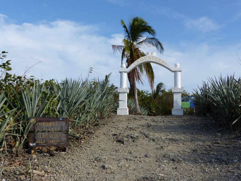 CABUYA: A laid-back Pacific beach town and a curious island of the dead
