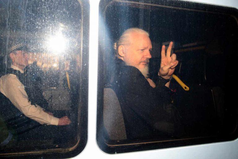 Julian Assange arrested after Ecuador withdraws asylum