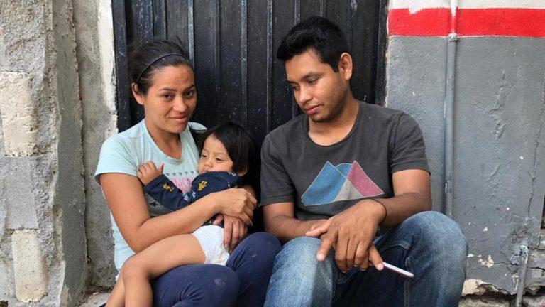 Nicaraguan boy, aged two, struck in throat by bullet, seeks asylum at U.S. border