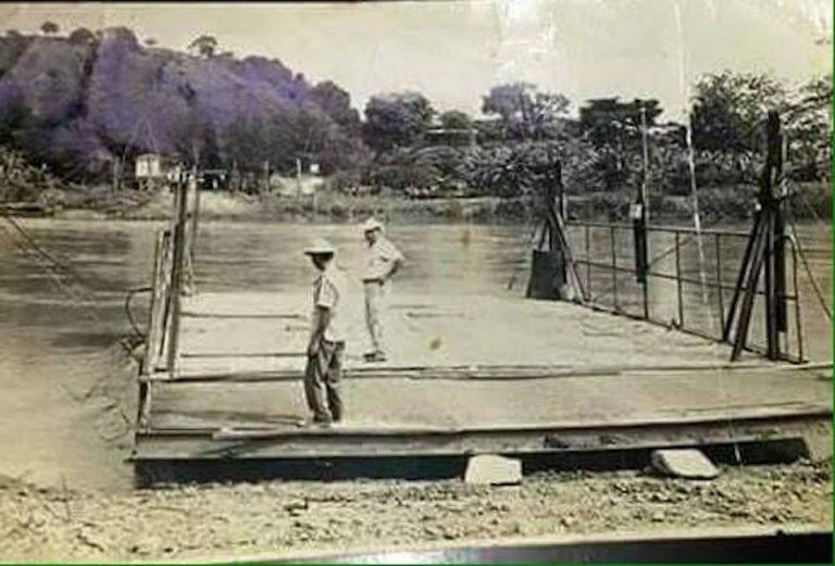 "Tarcoles Ferry, Before The Famous ""Crocodile Bridge"""