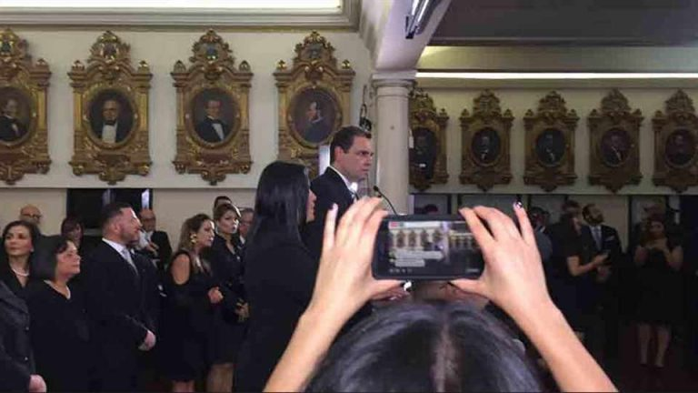Carlos Benavdies Elected President Of The Legislature