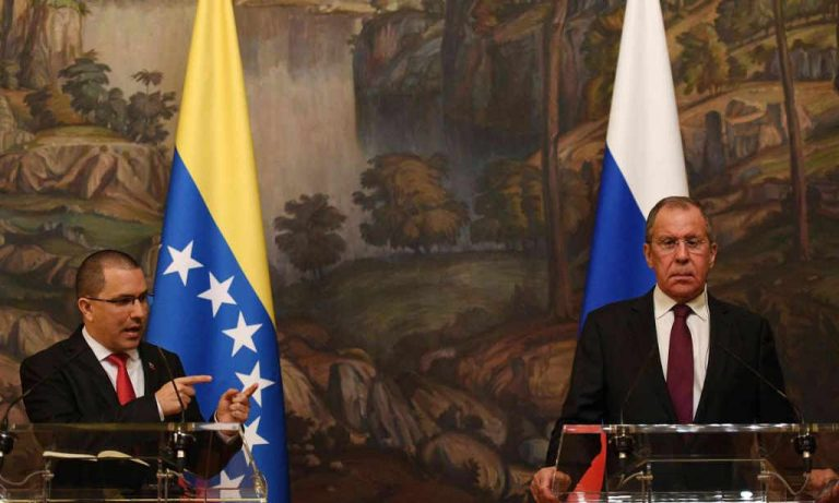 Russia urges US to abandon plan to topple Maduro