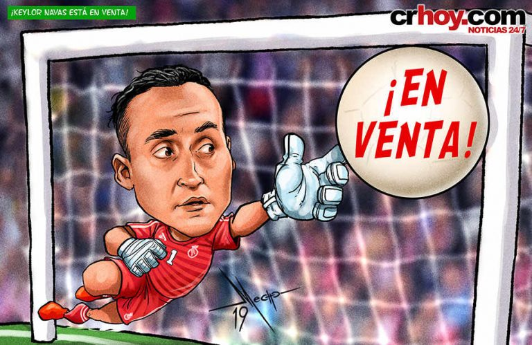 Keylor Navas is up for sale!?!