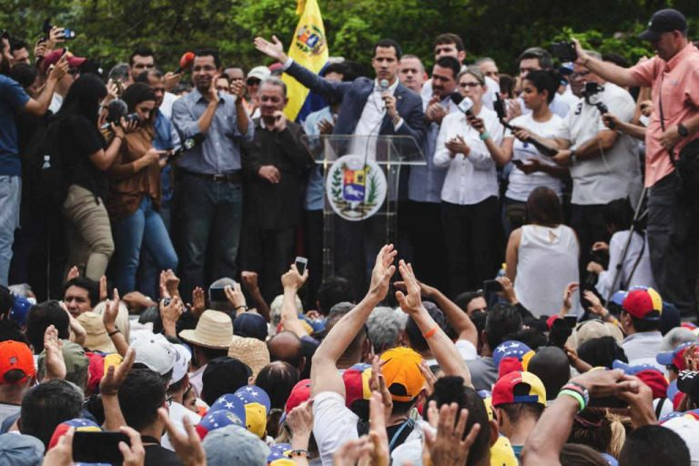 Guaido Officially Requests US Military Support