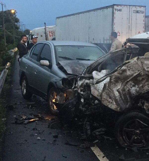 Early Morning Crash Leaves One Dead, Shuts Down Bernardo Soto (Photos)
