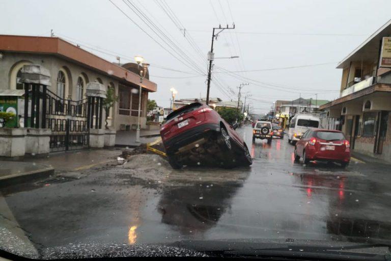 Some Pothole!