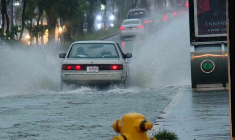 Saturday's downpour was the strongest in the Cental Valley in the last 100 years