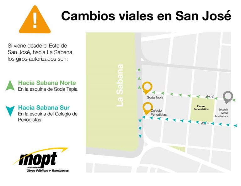 Road Changes in San Jose In Effect Monday June 24