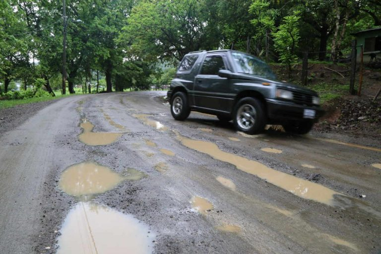The Potholes Are Back In Nosara (Video and Photos)