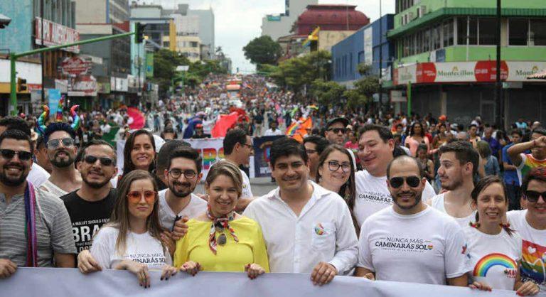 President Alvarado laughs it off being compared to Ortega and Maduro