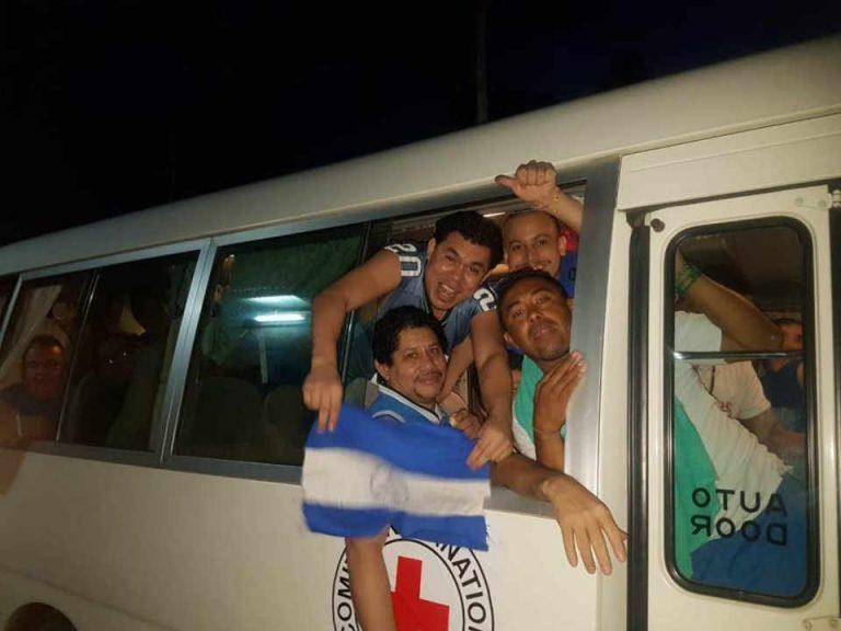 Ortega regime releases all political prisoners under its Amnesty Law