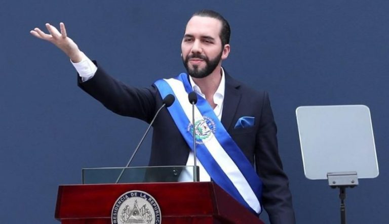 """El Salvador new president pledges to cure the """"sick child"""" after years of violence"""
