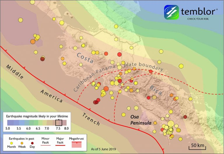 Osa Peninsula: A unique opportunity to drill and instrument the seismogenic zone of large megathrust earthquakes