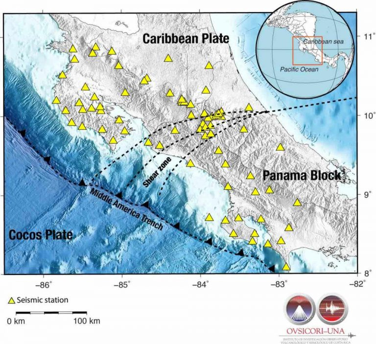 Repeating earthquakes discovered in Costa Rica