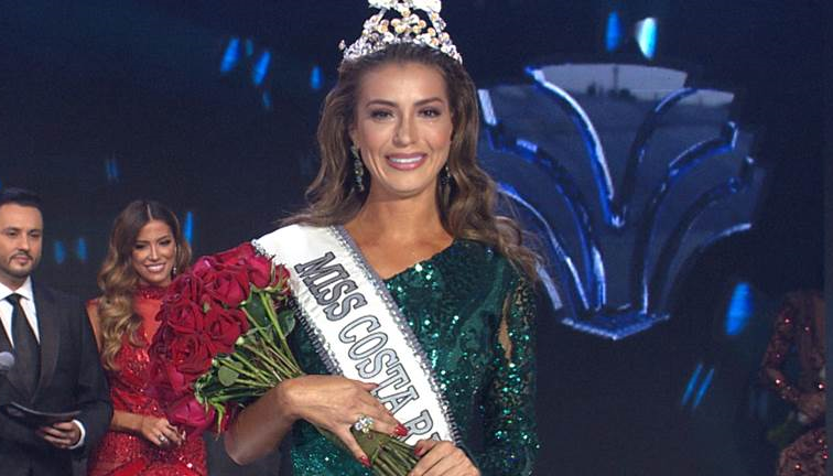 Paola Chacón Crowned Miss Costa Rica 2019