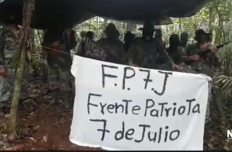 Armed Group Disguised As Guerillas Threaten President Carlos Alvarado