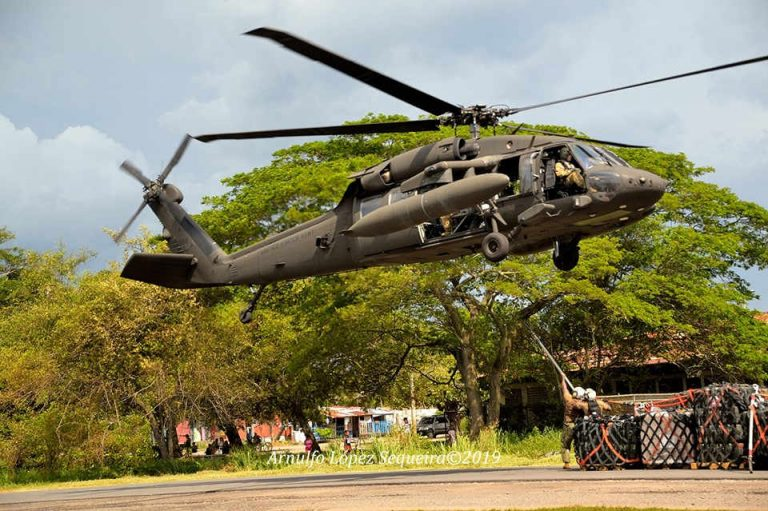 Sikorsky UH-60 Black Hawk In Costa Rica