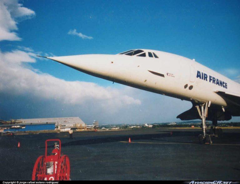 1999: The Concorde Arrives In Costa Rica