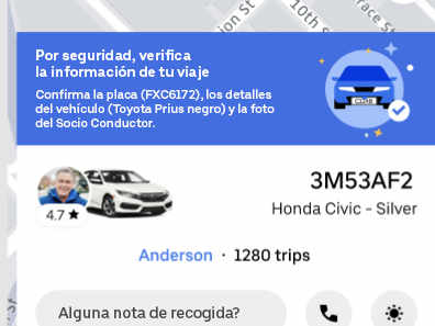 """Uber Advises Users In Costa Rica To """"Verify Your Trip"""""""