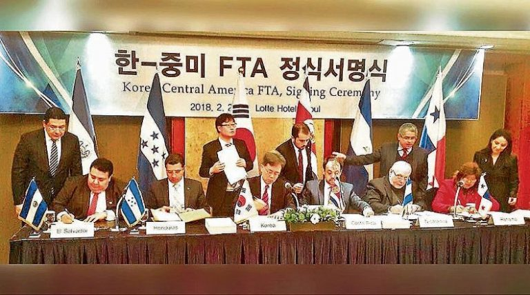 South Korea Ratified FTA with Central America