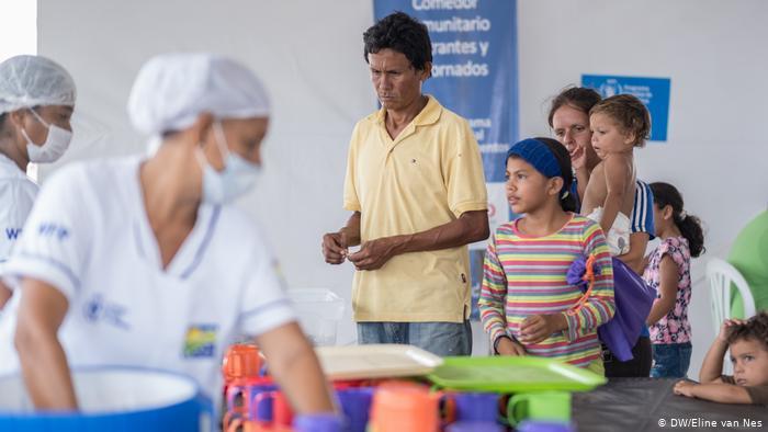 Venezuelans find refuge, solidarity in Colombia