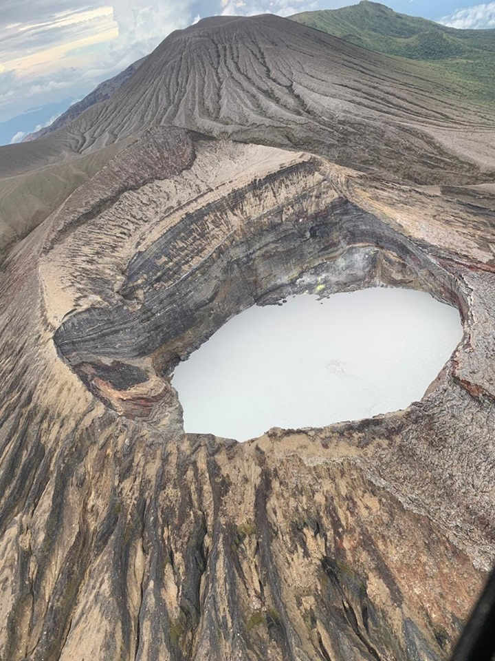 Volcanologist for a day: Super Volcano of Costa Rica