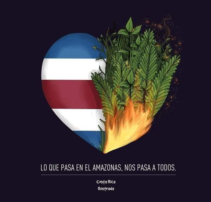 Figueres Calls On President Alvarado To Convene TIAR To Combat Amazon Fire