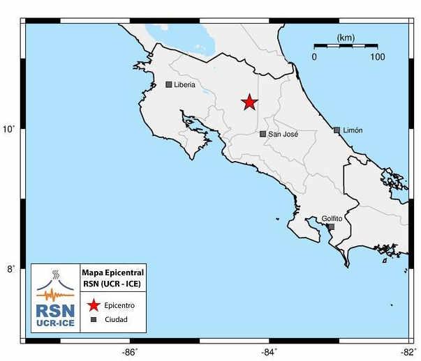 5.4 Quake Shakes Costa Rica