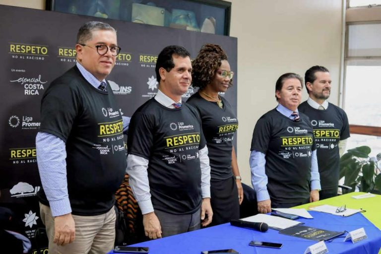 Fifth edition of the campaign against racism in Costa Rica soccer stadiums launched