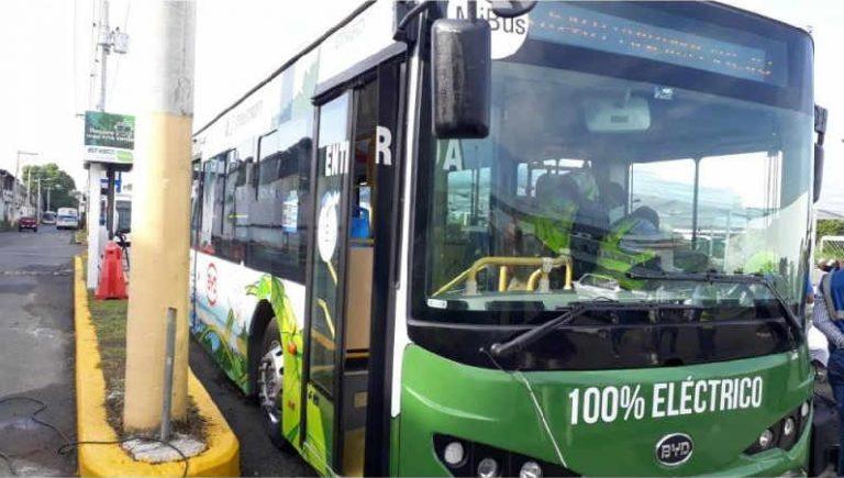 Panama Testing Electric Bus