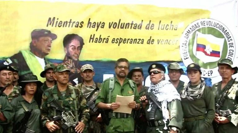 Colombia's peace process under stress