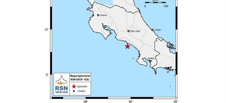 Two Quakes – 5.5 and 5.2 – Shake Costa Rica In Less That 12 Hours Apart