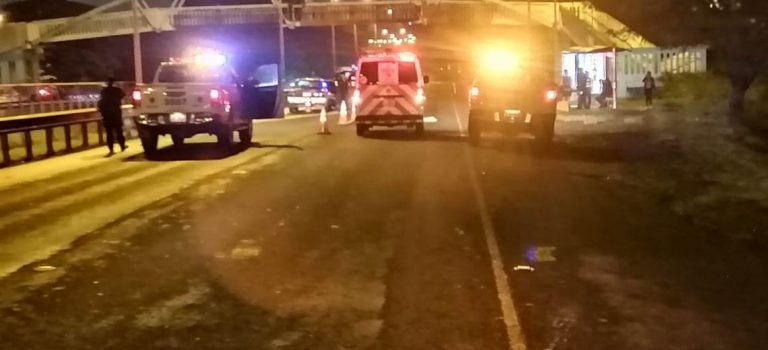 Karma? Man dies when hit by a car after assaulting a woman in Cartago