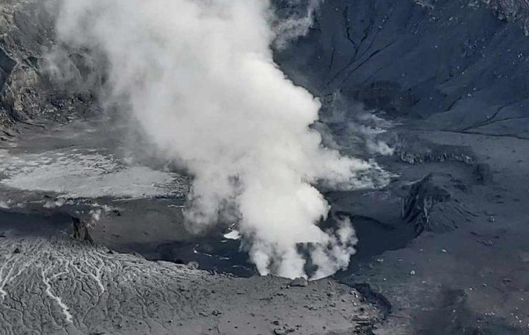 Poas Volcano Spews 'Rare' Volcanic Foam