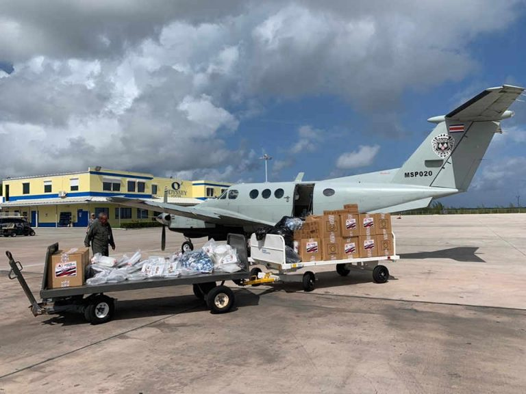 Costa Rica Aid For The Affected By Dorian Arrived In The Bahamas
