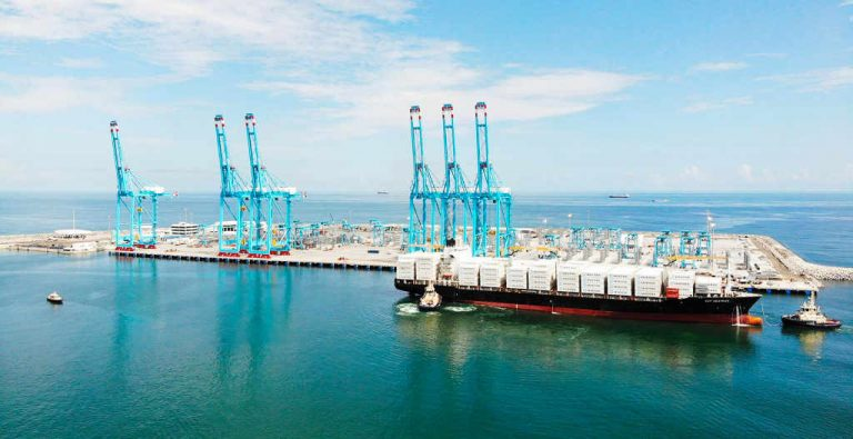 Chinese shipping company opens direct service from Moín to Shanghai