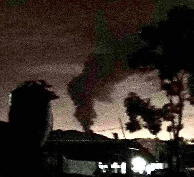 Poas Eruption This Monday Morning