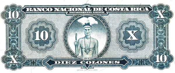 It's Been 80 Years Since Costa Rica Had An Indigenous Person On Its Banknotes