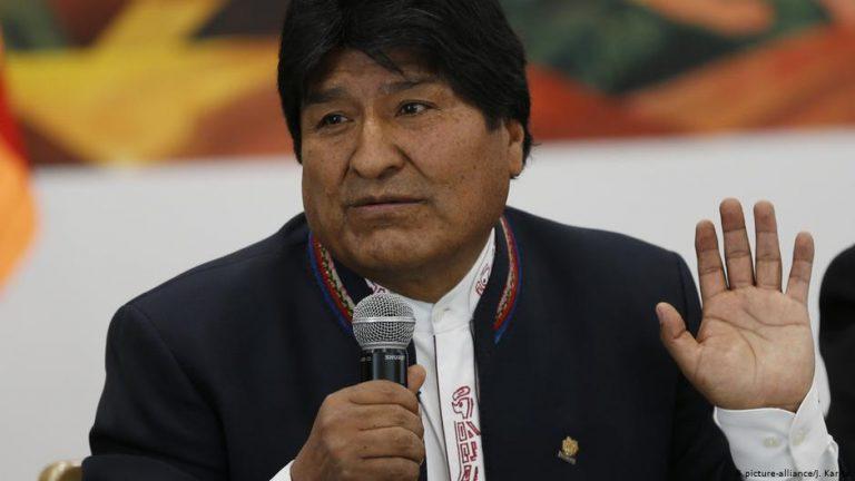 EU, US, Colombia Callls For Bolivia Election Runoff Vote