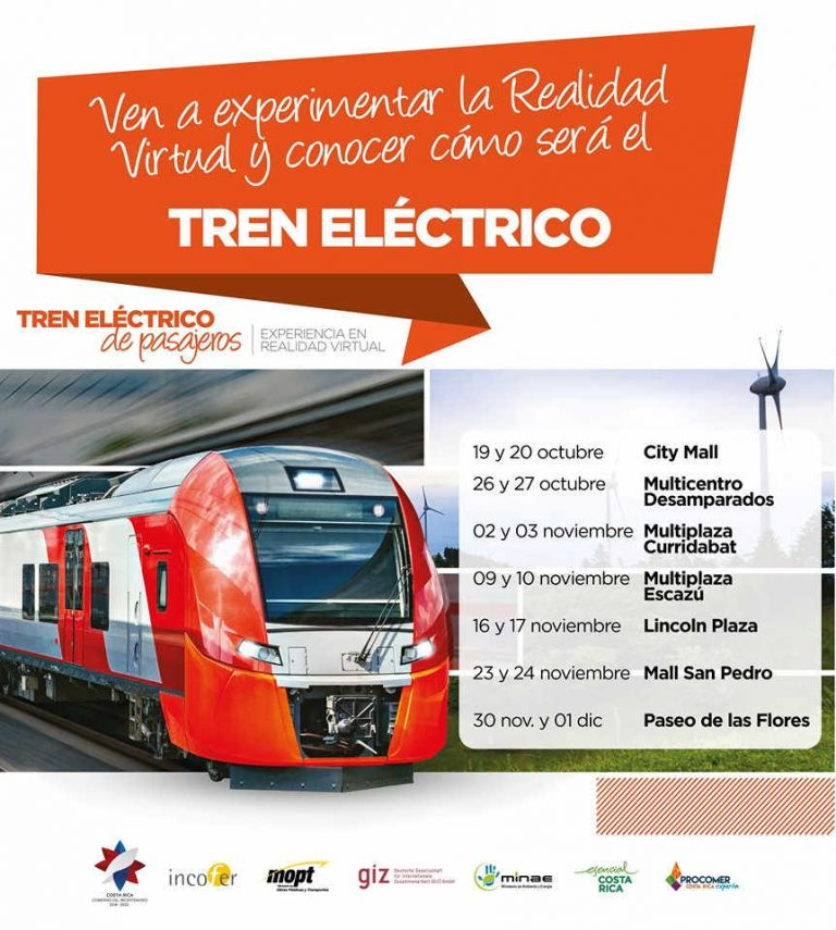 Virtual Reality Tour of the Electric Train!