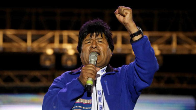 Morales Claims Victory in Bolivia