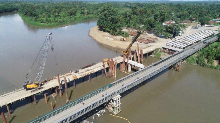 Costa Rica – Panama Bridge Half Way There