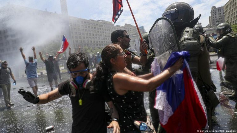 News Chile's Pinera vows 'no impunity' for police abuses during protests
