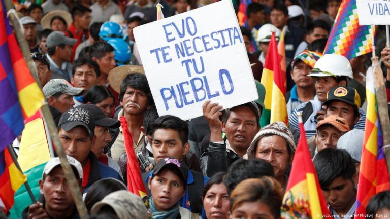 Bolivia approves new elections excluding Evo Morales