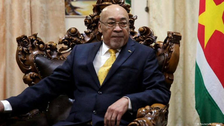 Suriname court convicts president of murder