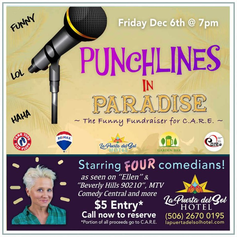 Punchlines in Paradise – Fundraiser of Coco C.A.R.E.