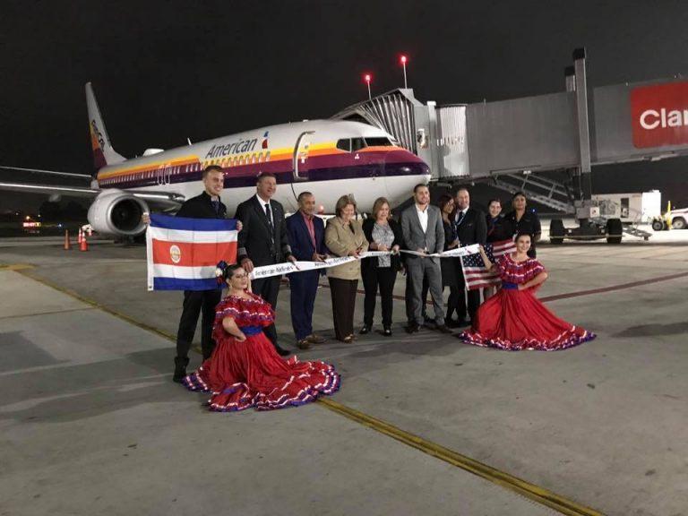 Inaugural Flight: JFK- SJO