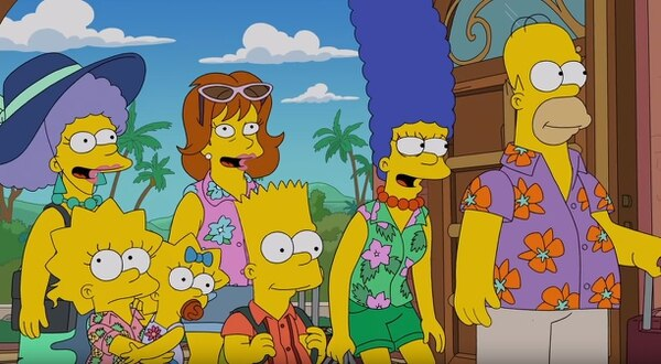 The Simpsons in Costa Rica!