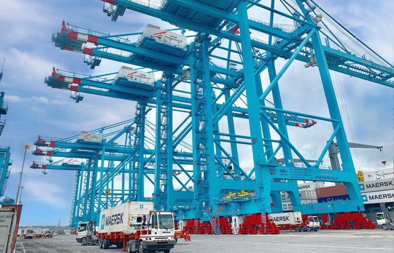 Moin Port Terminal Efficiency Improved