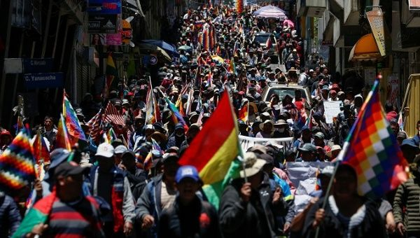 Bolivia: Thousands March in Response to Cochabamba Massacre